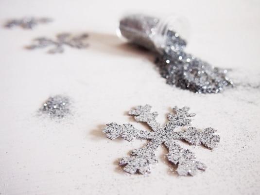 Fiocchi Di Neve Di Carta Fai Da Te : Segnaposto fai da te con fiocco di neve cucchiaio dargento