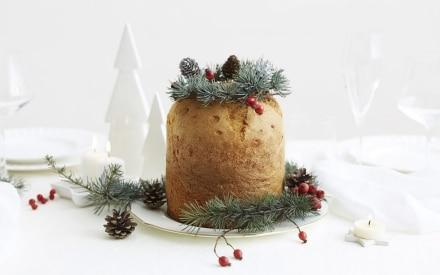 Il panettone gastronomico, il bosco e il Natale