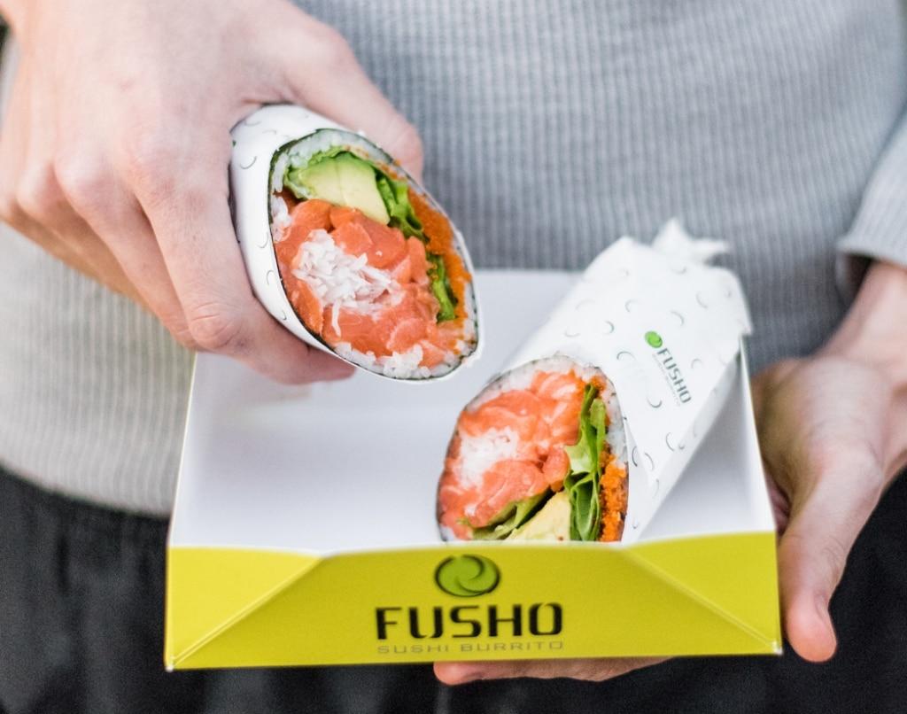 sushi brrito