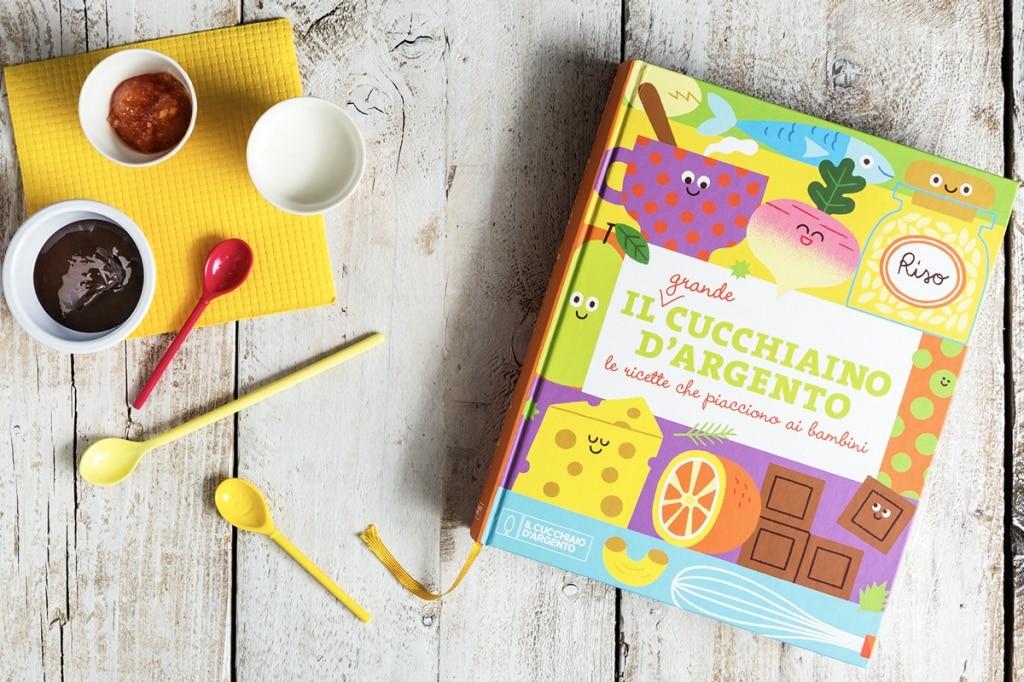 Arriva Il Grande Cucchiaino d'Argento: il libro completo di ricette dedicate ai bambini