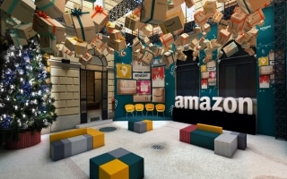 Siamo stati nel primo pop-up store di Amazon...