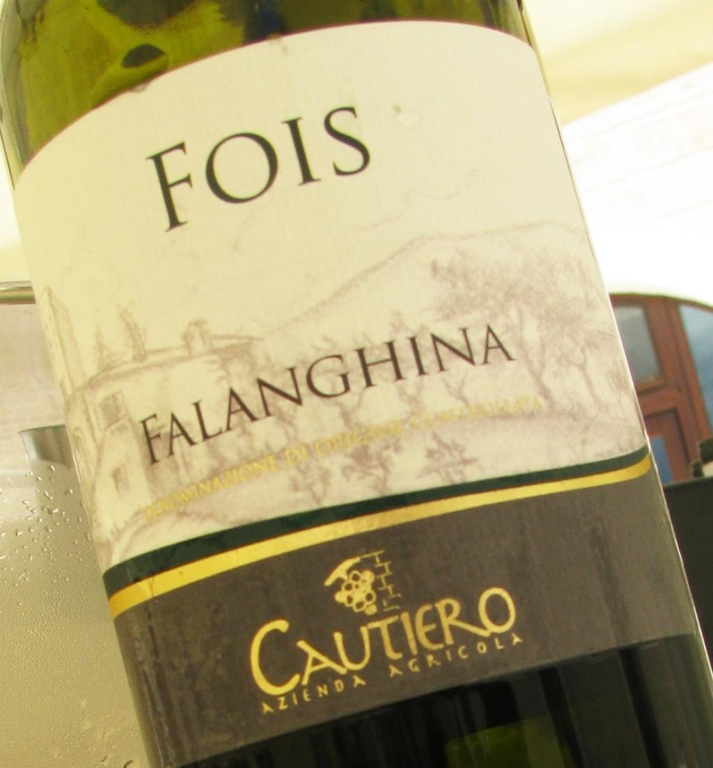 DOC Falanghina del Sannio Fois - Cautiero 2012