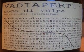 DOC Irpinia Coda di Volpe 2012 – Vadiaperti