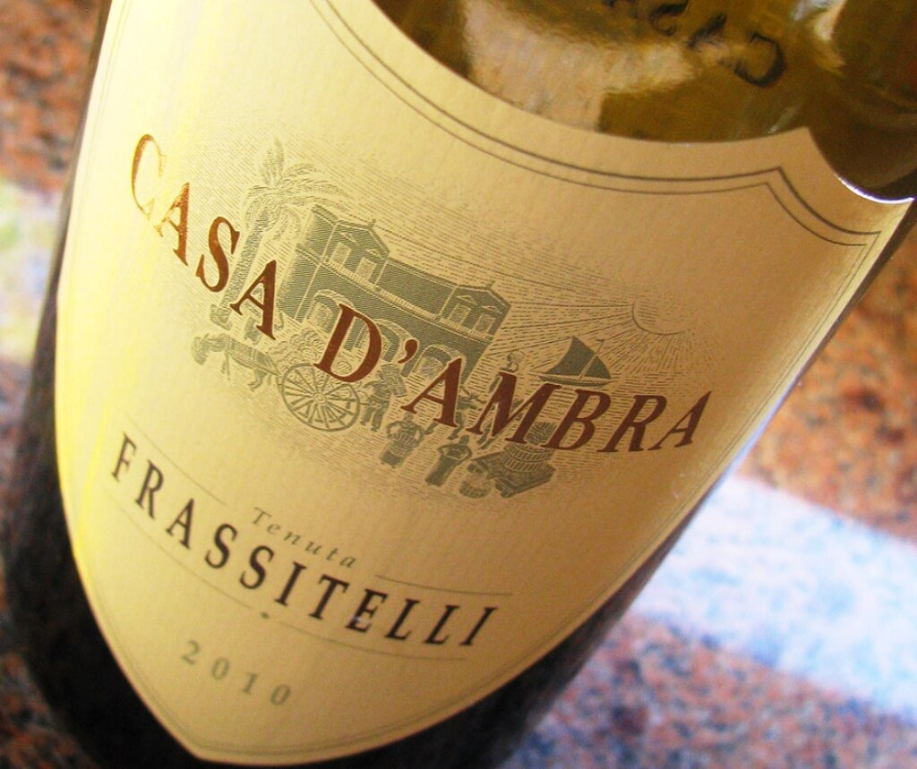 DOC Ischia Biancolella Frassitelli - Casa d'Ambra  2012