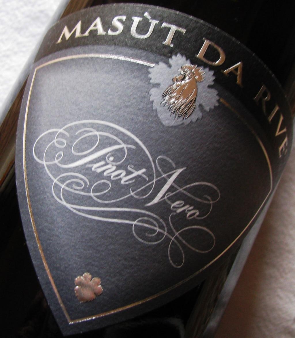 DOC Isonzo del Friuli Pinot Nero - Masùt da Rive 2010