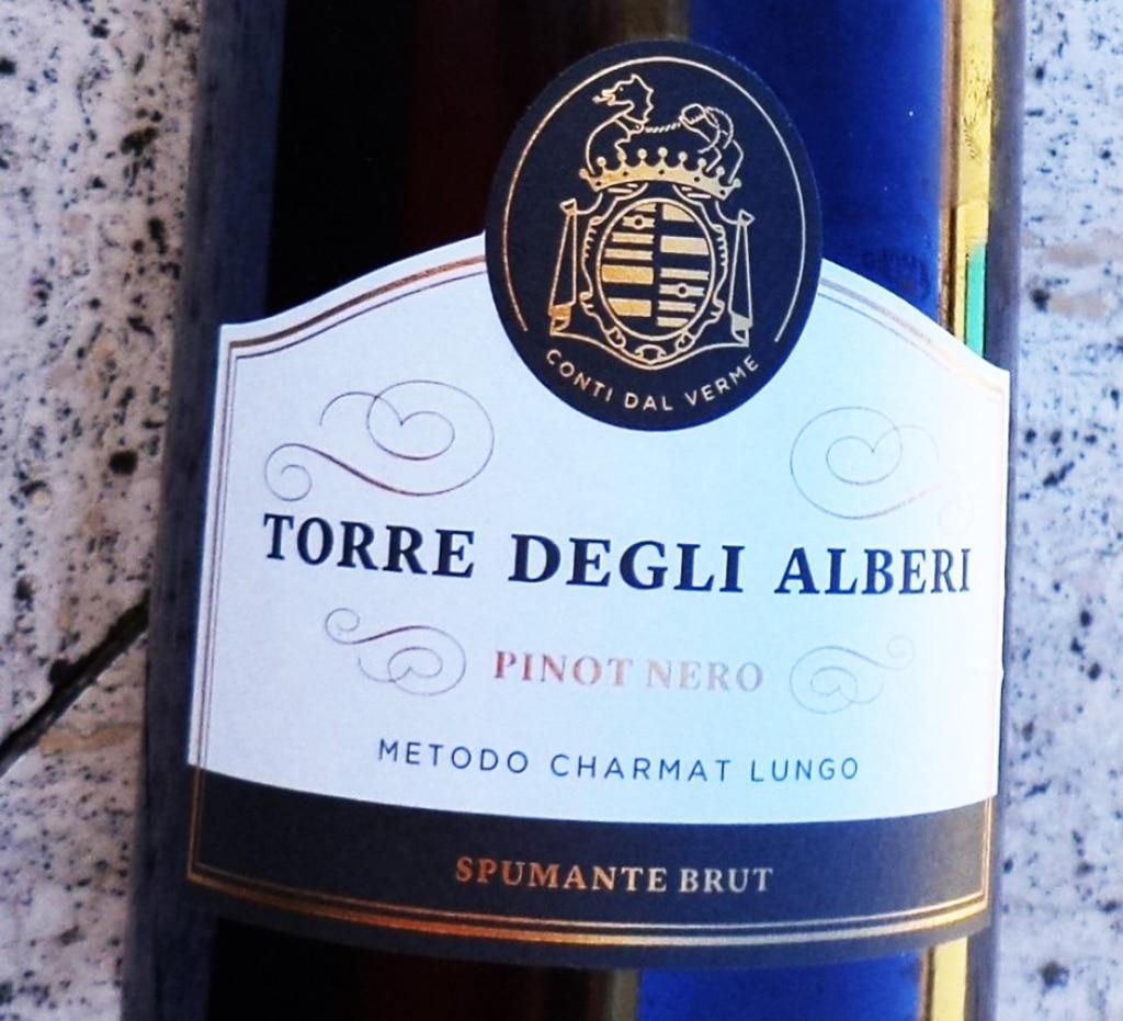 DOC Oltrepò Pavese Pinot Nero Spumante Brut Metodo Charmat Lungo – Torre degli Alberi 2012