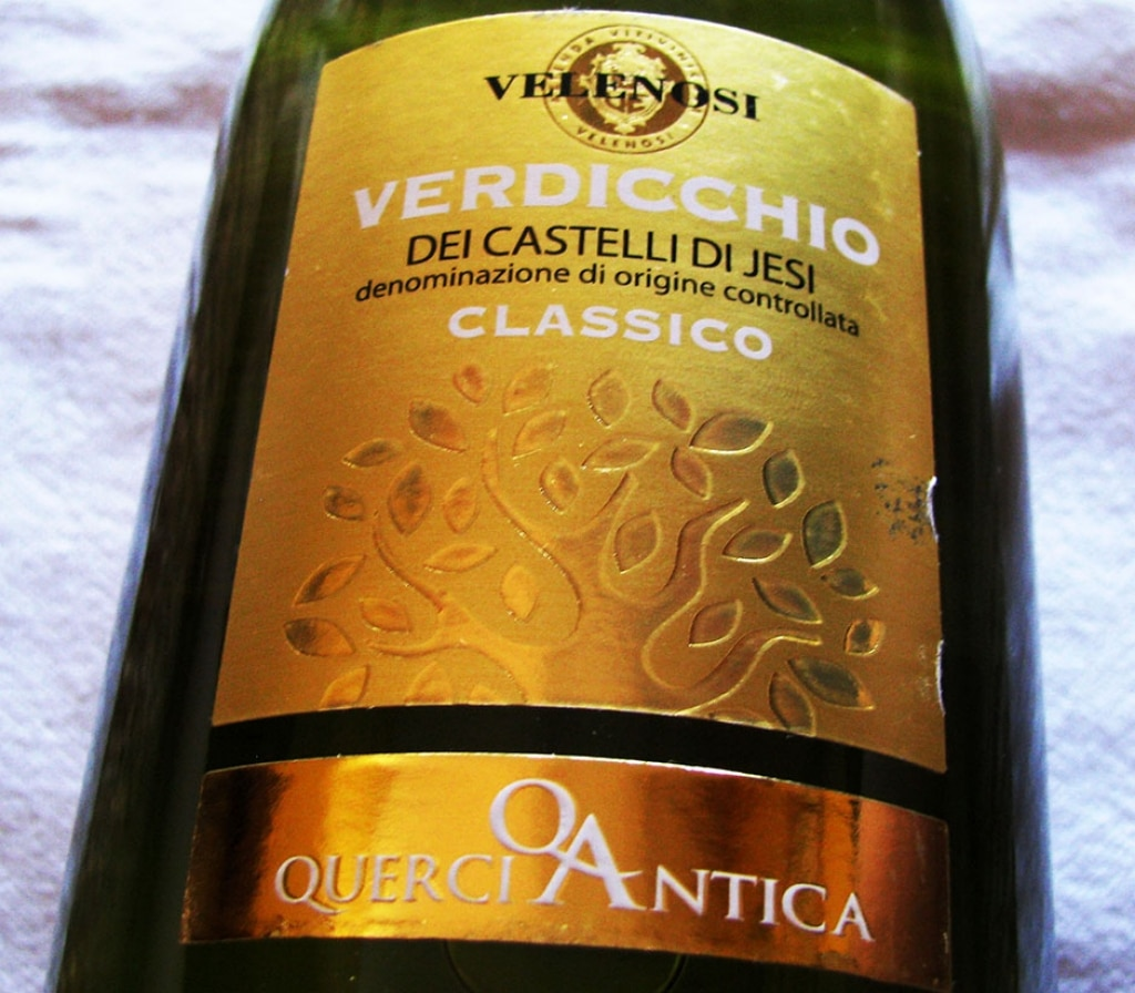 DOC Verdicchio dei Castelli di Jesi Classico Querciantica - Velenosi 2013