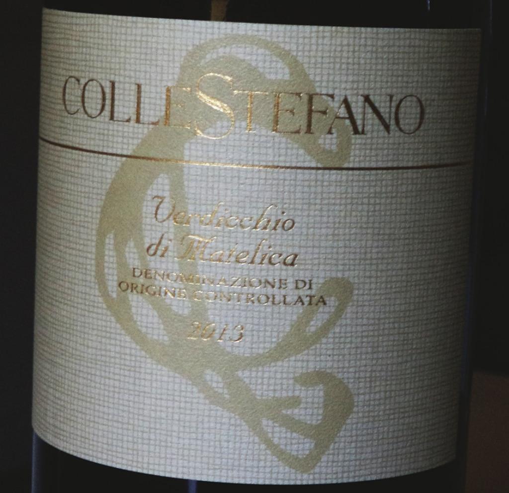 DOC Verdicchio di Matelica 2013 – Collestefano