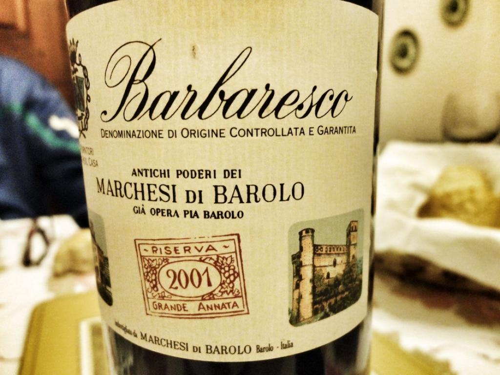 Docg Barbaresco Riserva - Marchesi di Barolo 2001