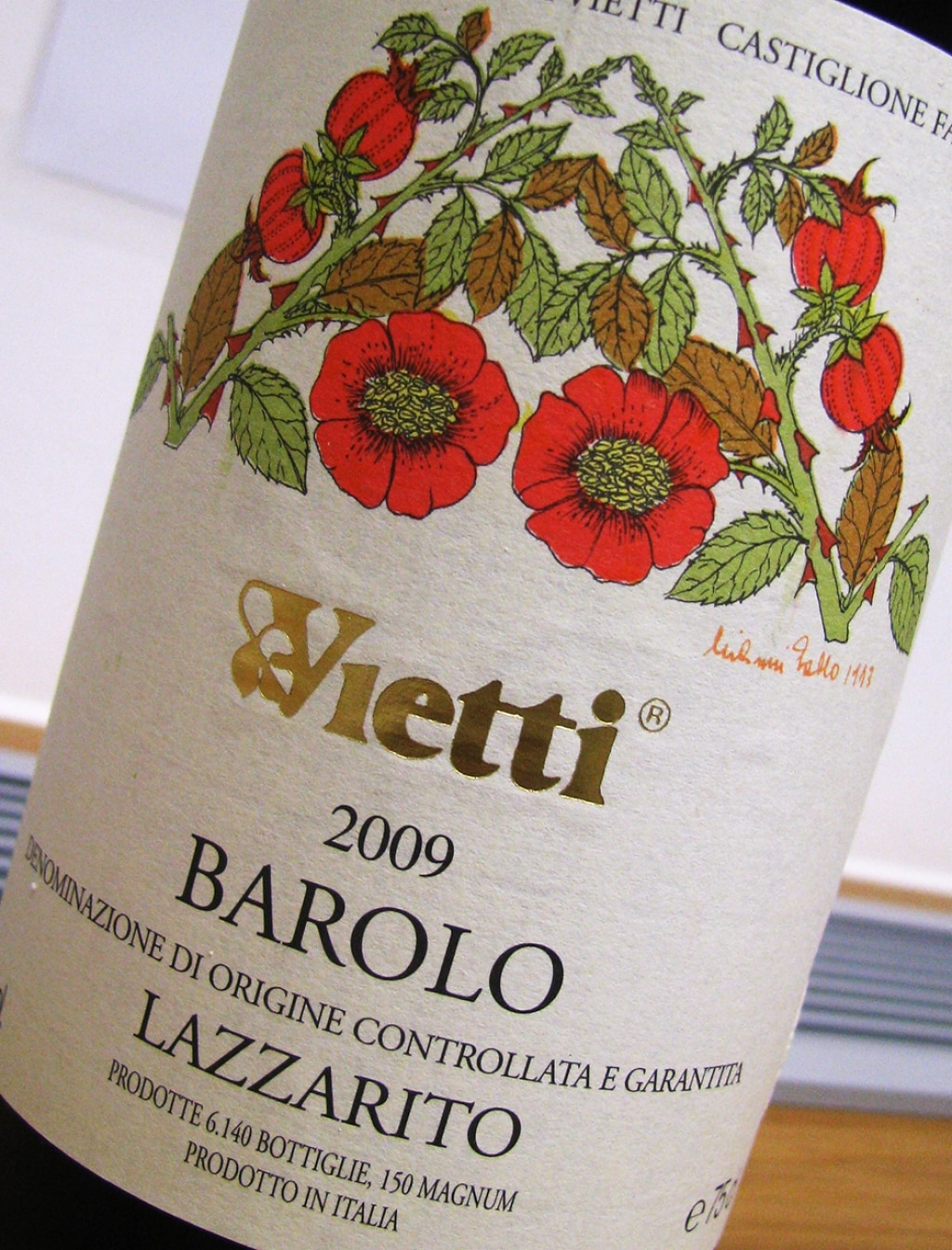 DOCG Barolo Lazzarito - Vietti 2009