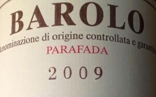 DOCG Barolo Parafada - Palladino 2009