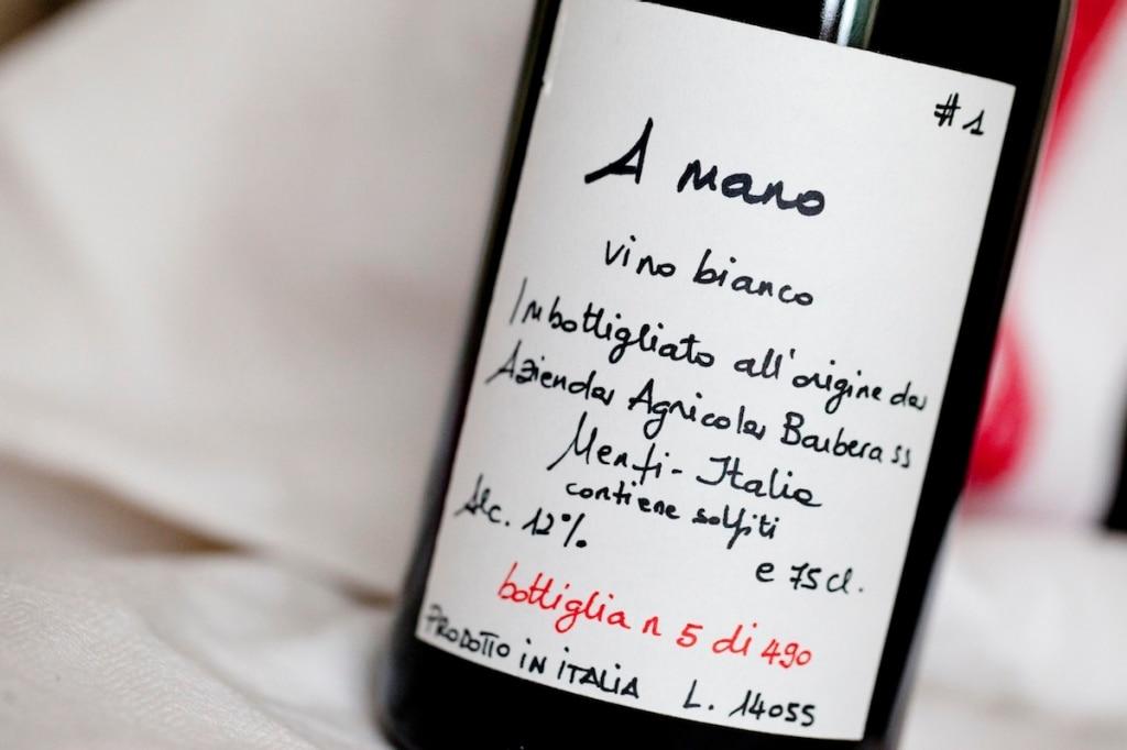 Vino Bianco Ammano - Barbera