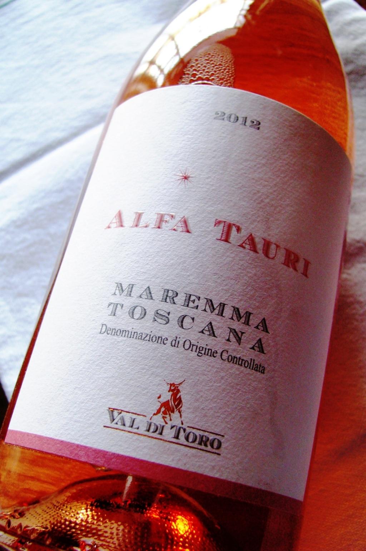 IGT Maremma Toscana Rosato Alfa Tauri - Val di Toro 2012