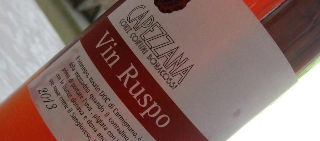 DOC Carmignano Rosato Vin Ruspo - Tenuta di Capezzana 2013