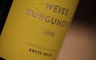 DOC AA Sudtirol Weissburgunder - Erste Neue...
