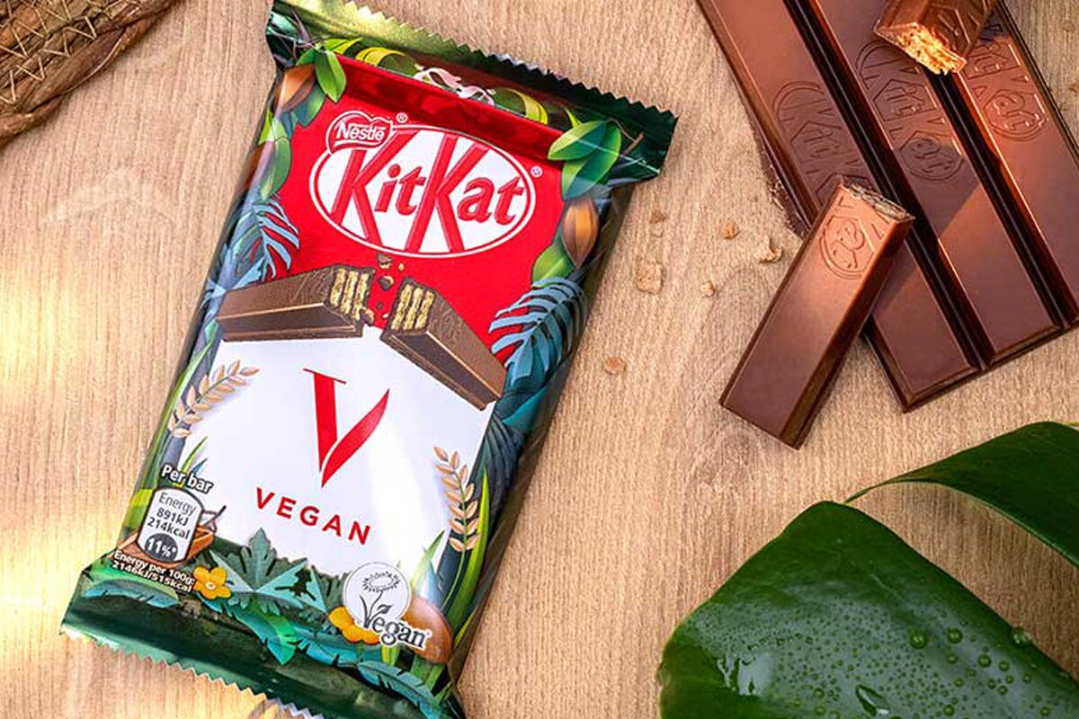 Dal Big Mac al KitKat, le alternative vegetali conquistano snack e fast food
