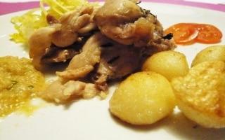 Tonno di Coniglio, cavolo cappuccio e patate...