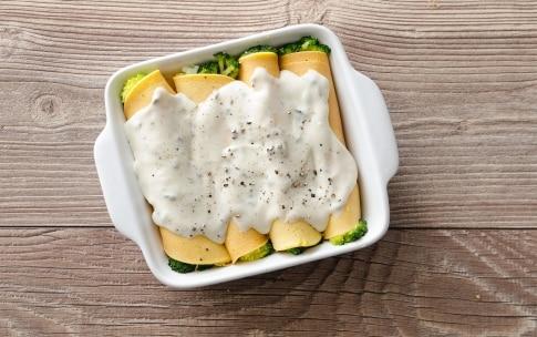 Preparazione Cannelloni di broccoli e salsa al gorgonzola - Fase 3