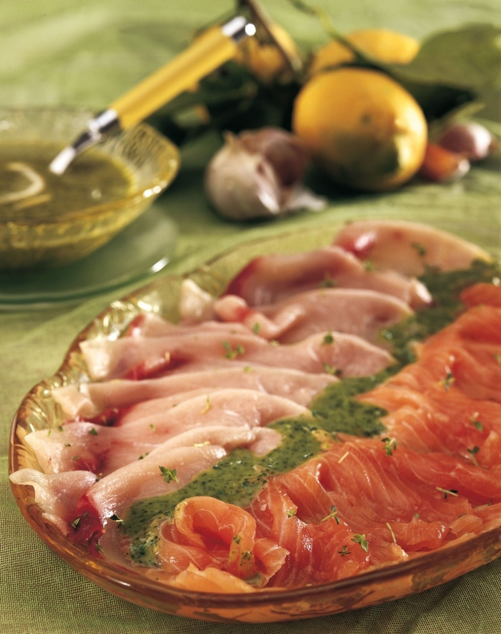 Carpaccio di pesce