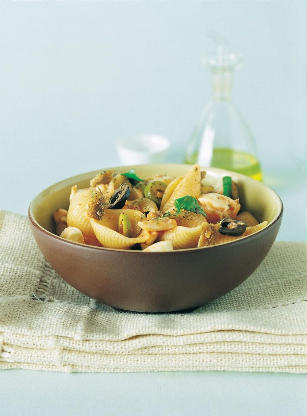 Conchiglie alle olive