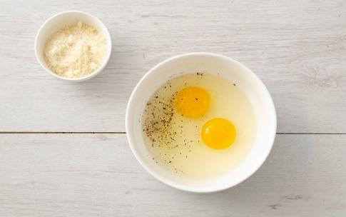 Preparazione Fagiolini con uova cremose - Fase 2