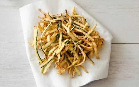 Preparazione Zucchine fritte alla romana - Fase 2