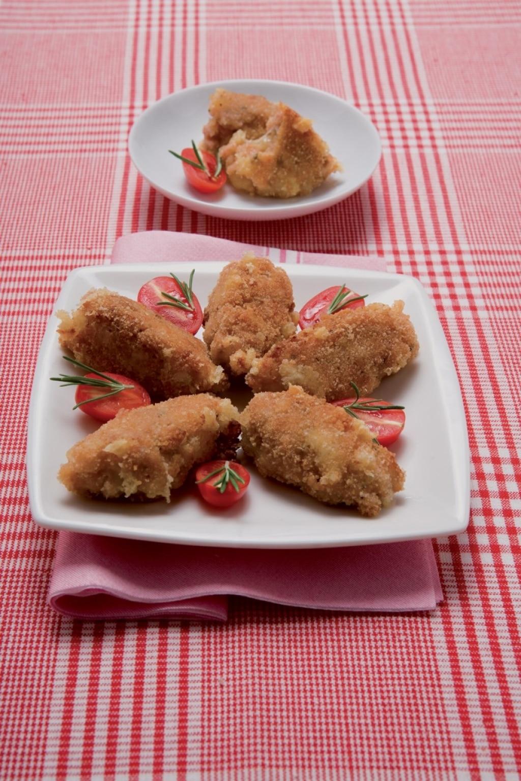 Frittelle di fontina