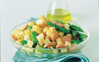 Ditali, asparagi e fontina