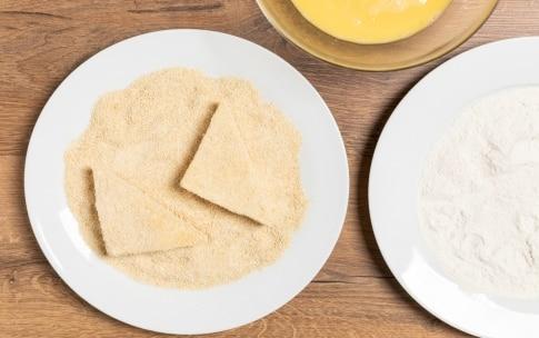 Preparazione Mozzarella in carrozza - Fase 2