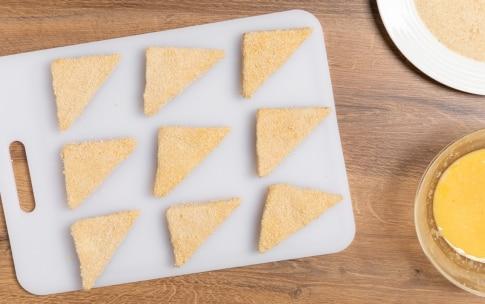 Preparazione Mozzarella in carrozza - Fase 3