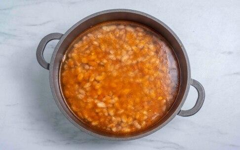 Preparazione Pasta e fagioli - Fase 2