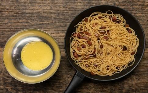 Preparazione Spaghetti alla carbonara - Fase 3