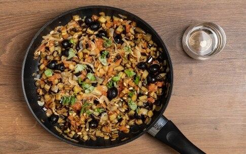 Preparazione Insalata di pasta con caponata di verdure - Fase 3