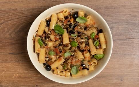 Preparazione Insalata di pasta con caponata di verdure - Fase 4