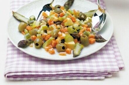 Avocado e asparagi