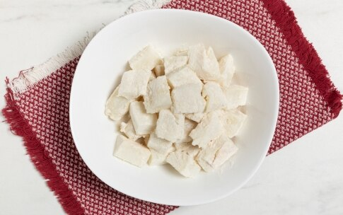 Preparazione Baccalà con cipolle - Fase 1