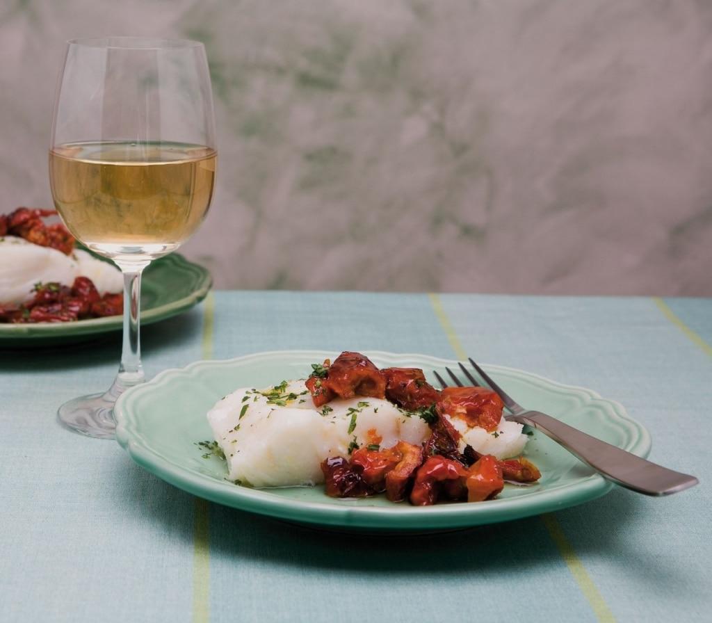 """Baccalà con peperoni """"cruschi"""""""