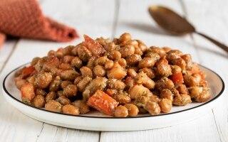 Borlotti in insalata rustica
