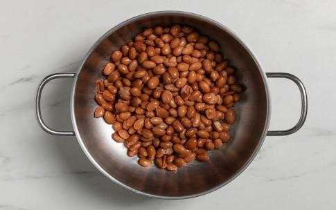 Preparazione Borlotti in insalata rustica - Fase 1