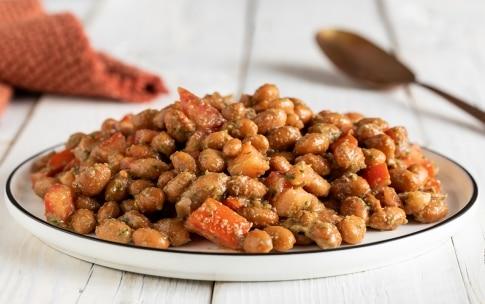 Preparazione Borlotti in insalata rustica - Fase 3