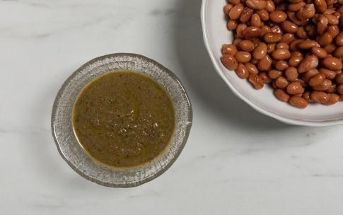Preparazione Borlotti in insalata rustica - Fase 2