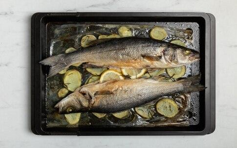 Preparazione Branzino al forno - Fase 2