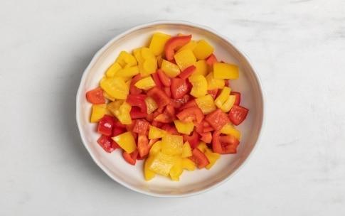 Preparazione Caponata di melanzane e peperoni - Fase 1