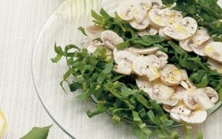 Cicorino e champignon