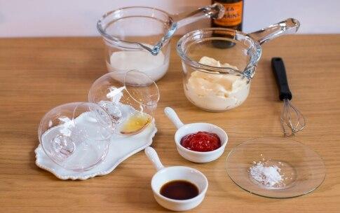 Preparazione Cocktail di scampi - Fase 2