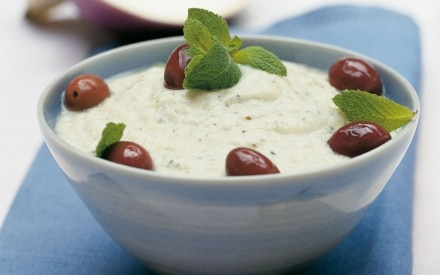 Crema di melanzane allo yogurt