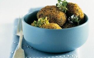 Crocchette ai semi di papavero