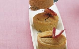 Gâteau di fagioli e radicchio rosso