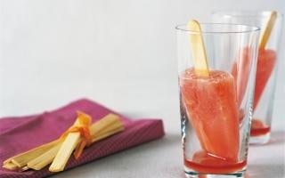 Ghiaccioli al Campari e arancia
