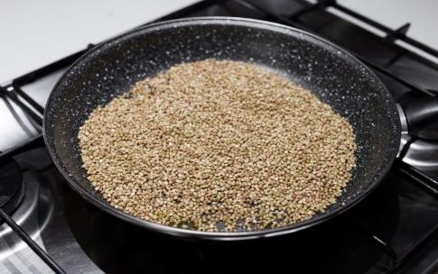 Preparazione Grano saraceno con i broccoli - Fase 1